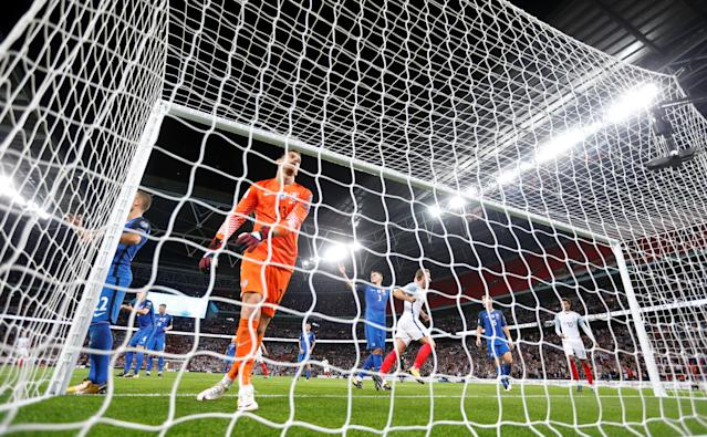 <p>England take huge stride towards World Cup qualification with comeback win over Slovakia </p>