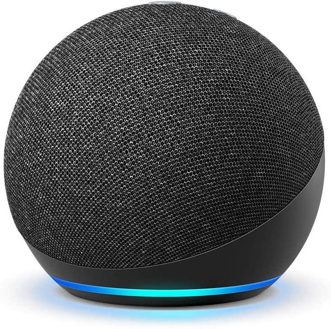 Save 43% on the Echo Dot (4th Gen) Smart speaker with Alexa. Image via Amazon.