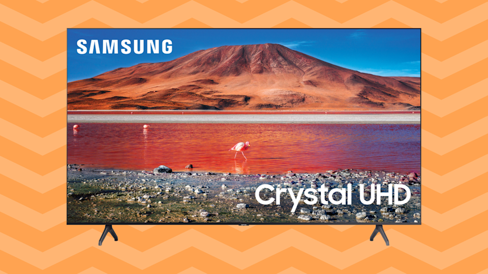 Save $52 on this Samsung 58-inch Class 4K Crystal Ultra HD LED Smart TV. (Photo: Walmart)