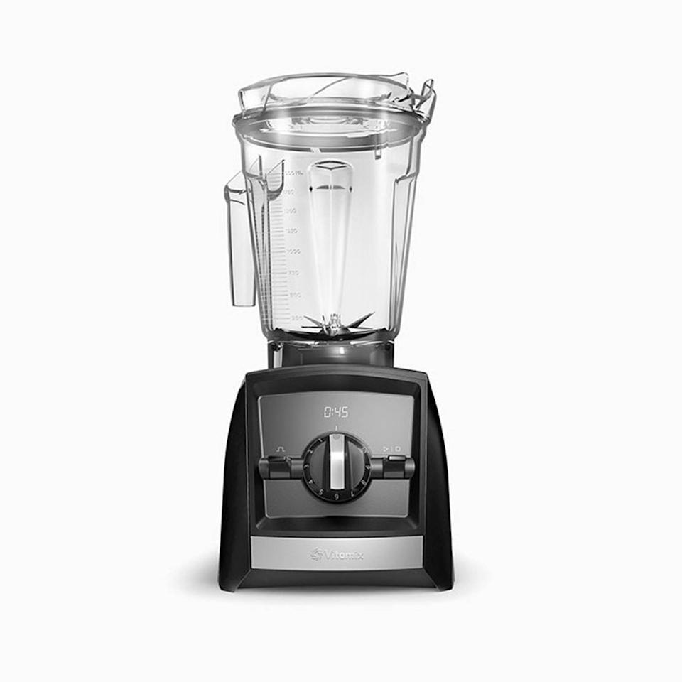 "Besides being able to make soups and smoothies for days, the fact that I can now whip up my own almond butter has been incredibly liberating (bye, prepackaged nut butters) and just lots of fun. —<em>T.A.</em> $450, Vitamix. <a href=""https://www.vitamix.com/us/en_us/shop/a2300"" rel=""nofollow noopener"" target=""_blank"" data-ylk=""slk:Get it now!"" class=""link rapid-noclick-resp"">Get it now!</a>"