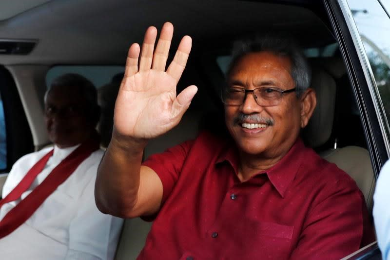 Former Sri Lankan defence chief wins presidential vote