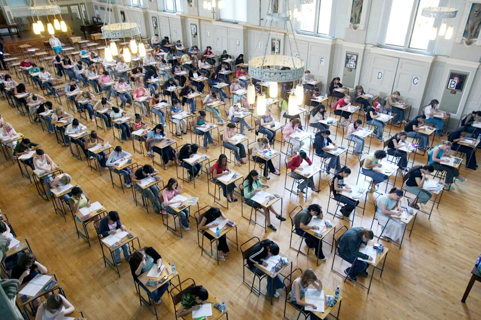 Individuals sitting exams in 2021 will have special measures to ensure they are not disadvantaged by the coronavirus pandemic (file picture) (Photo: Andrew Fox via Getty Images)