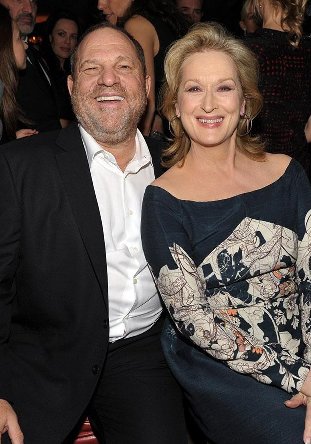 Meryl Streep has slammed Harvey Weinstein and labelled his actions