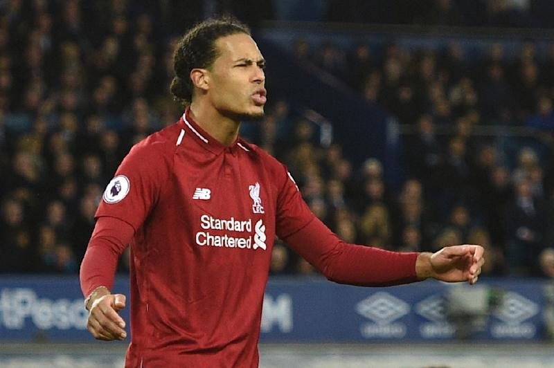 Virgil van Dijk: Liverpool deserve to win trophies