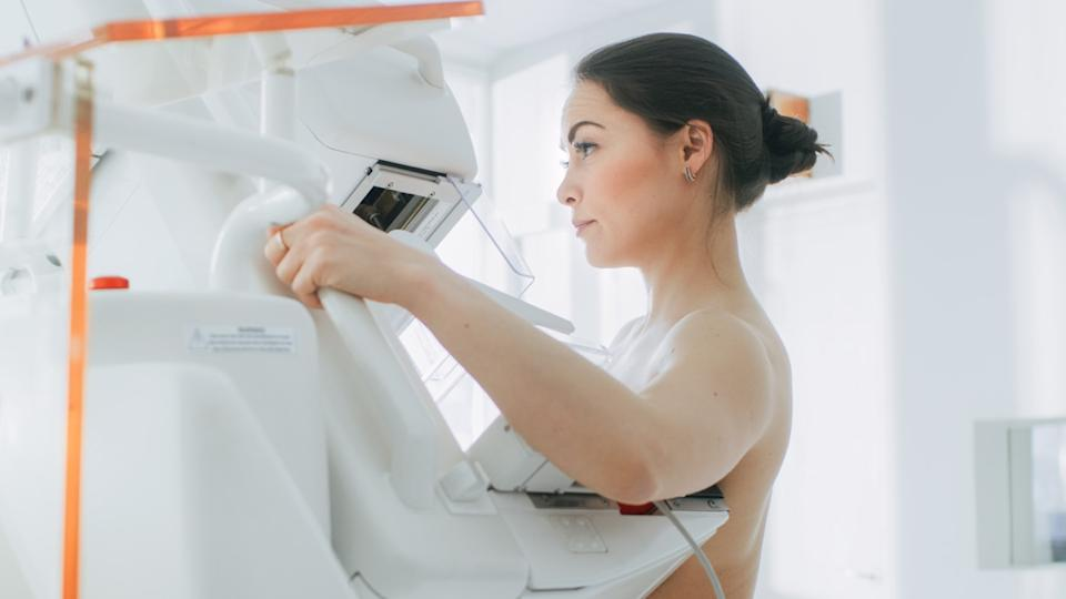 Female Does Cancer Preventive Mammography