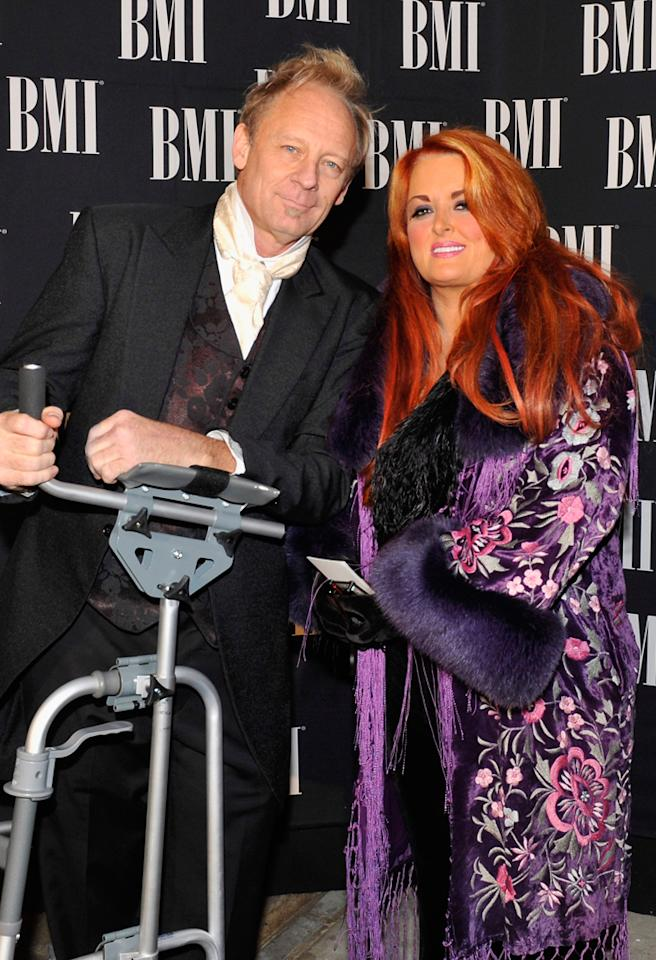 NASHVILLE, TN - OCTOBER 30:  (L-R) Cactus Moser and Wynonna Judd attend 60th annual BMI Country awards at BMI on October 30, 2012 in Nashville, Tennessee.  (Photo by Erika Goldring/FilmMagic)