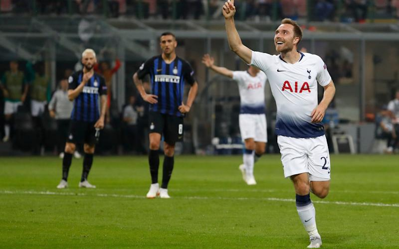 Christian Eriksen is understood to be closer to making the move to Serie A club Inter Milan - AP