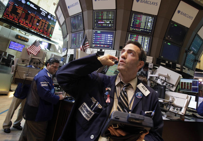 Dismal jobs report sends Dow into 275-point dive