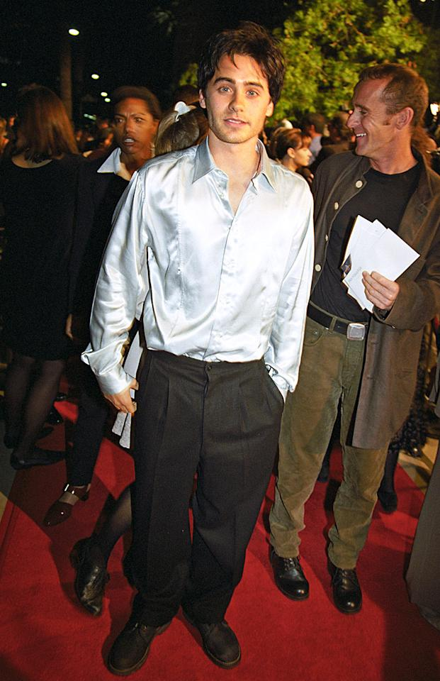 """<p>After playing teen heartthrob Jordan Catalano on the short-lived, but beloved, television series <em>""""My So-Called Life""""</em>, Leto appeared in his first feature film <em>""""How to Make an American Quilt</em>. (Photo: BEI/Shutterstock)</p>"""