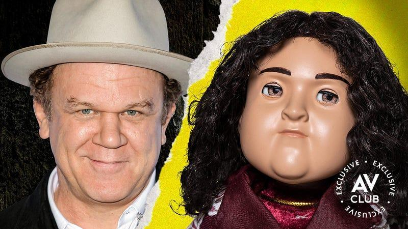 Image of John C. Reilly and his stop-motion alter ego in AMC+'s Ultra City Smiths