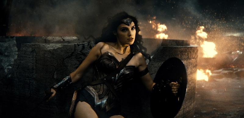 Comic Con Wonder Woman Is Wise Graceful And Powerful In New Movie Poster