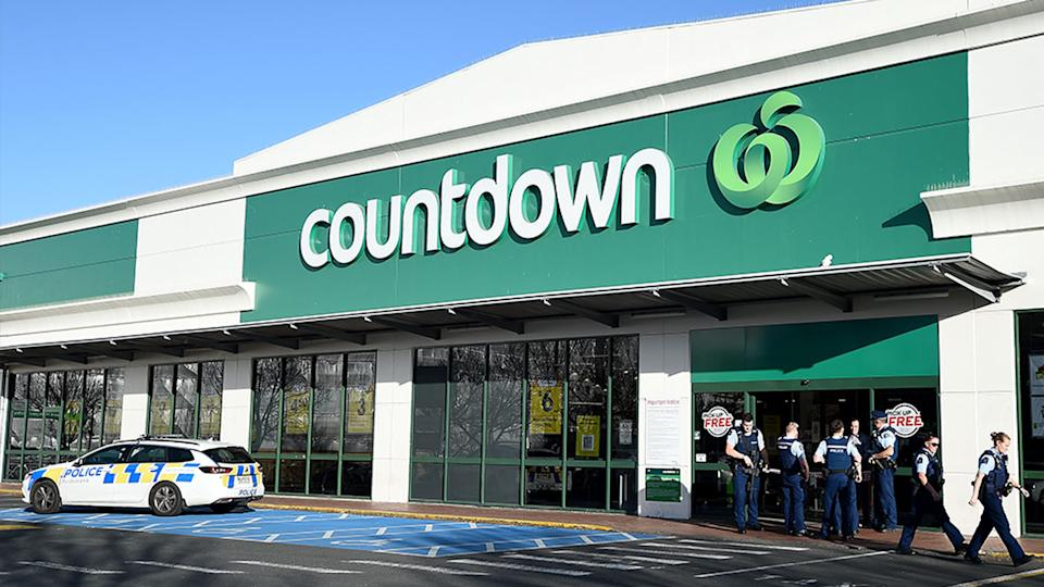 Four people have been injured - three critically - after a man started stabbing shoppers at a Countdown supermarket in New Zealand. Source: Getty Images