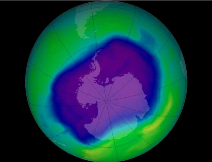 Three scientists found a hole in the ozone layer, prompting a global treaty