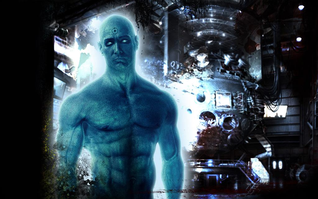 """Character: Doctor Manhattan (<a href=""""http://movies.yahoo.com/movie/contributor/1800019546"""">Billy Crudup</a>)   Movie: <a href=""""http://movies.yahoo.com/movie/1808406490/info"""">Watchmen</a>   Reason Why He Is Blue: An unfortunate encounter with an Intrinsic Field Subtractor turned a mild mannered physicist into a glowing blue demigod who is able to transcend space, time and, apparently, pants."""