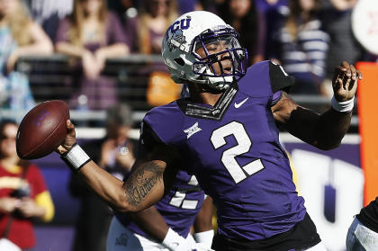 Will Trevone Boykin and TCU lose their edge now that they've missed out on the College Football Playoff? (AP)