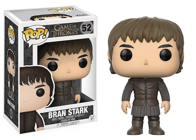 <p>We haven't seen Bran standing since Season 1, so if it makes you feel better, you can lay him on his back for accuracy. </p>