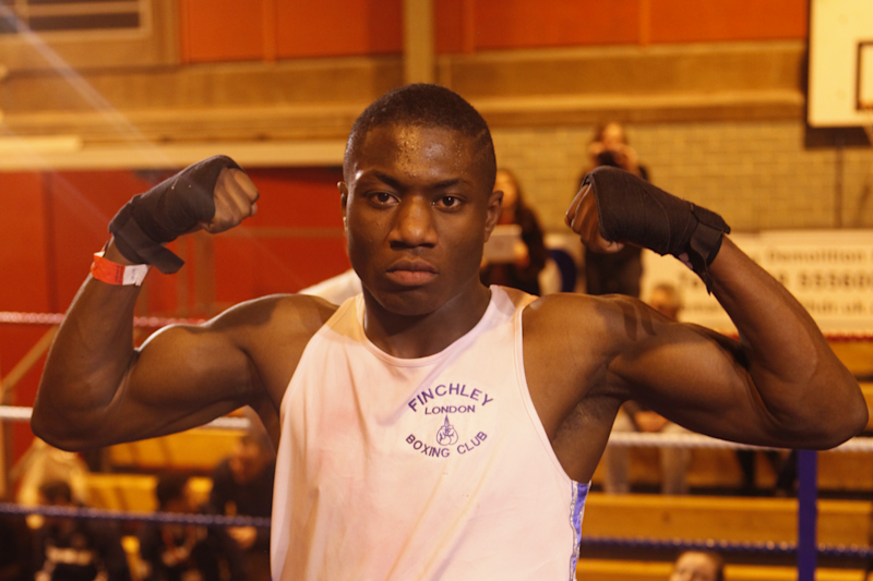 The Londoner trained at Finchley ABC - the former home of Anthony Joshua Photo: Jonathan Kumuteo
