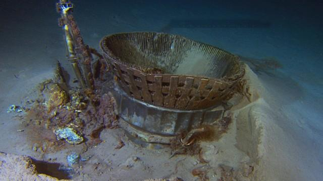 NASA's Apollo Engines Recovered from the Ocean