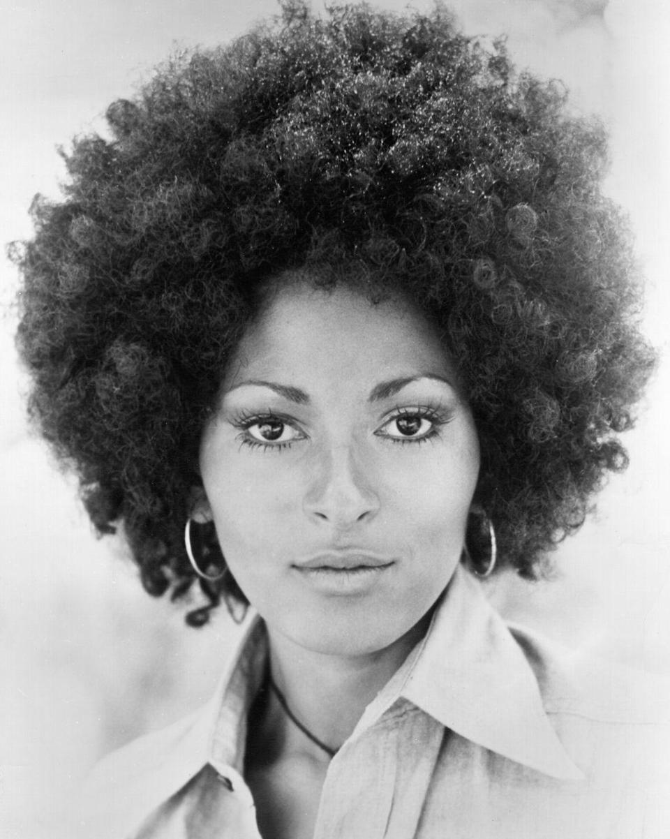<p>As more black women began wearing their hair in natural styles (as opposed to relaxed or covered with a wig), Pam Grier and her voluminous curls became one of the decade's most iconic looks.</p>