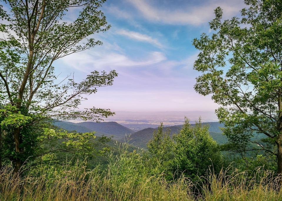 """<p><strong>Best camping in Virginia:</strong> Big Meadows Campground, Shenandoah National Park </p> <p>Perfect for catching a glimpse of the tangerine-hued autumn leaves, <a href=""""https://www.cntraveler.com/activities/luray/shenandoah-national-park?mbid=synd_yahoo_rss"""" rel=""""nofollow noopener"""" target=""""_blank"""" data-ylk=""""slk:Shenandoah"""" class=""""link rapid-noclick-resp"""">Shenandoah</a> is <br> home to over 500 miles of trails, over a hundred of which are along the transcontinental Appalachian Trail. Big Meadows offers many homey comforts (like hot showers) while remaining close to waterfalls, wildlife viewing, and the park's famous Skyline Drive.</p>"""
