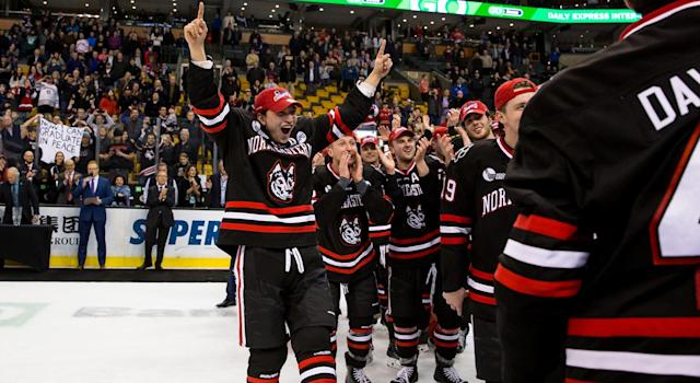Northeastern won its first Beampot in 30 years. (Getty)