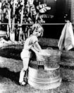 """<p>At just 4 years old, Shirley was cast in a series of low budget films called <a href=""""https://www.theatlantic.com/entertainment/archive/2014/02/shirley-temple-the-child-star-who-wasnt-a-cautionary-tale/283747/"""" rel=""""nofollow noopener"""" target=""""_blank"""" data-ylk=""""slk:&quot;Baby Burlesks."""" class=""""link rapid-noclick-resp"""">""""Baby Burlesks.</a>"""" The actress later shared stories of <a href=""""https://www.theatlantic.com/entertainment/archive/2014/02/shirley-temple-the-child-star-who-wasnt-a-cautionary-tale/283747/"""" rel=""""nofollow noopener"""" target=""""_blank"""" data-ylk=""""slk:mistreatment on the set of these movies"""" class=""""link rapid-noclick-resp"""">mistreatment on the set of these movies</a> in her memoir, <em><a href=""""https://www.amazon.com/Child-Star-Shirley-Temple-Black/dp/0070055327?tag=syn-yahoo-20&ascsubtag=%5Bartid%7C10063.g.35392518%5Bsrc%7Cyahoo-us"""" rel=""""nofollow noopener"""" target=""""_blank"""" data-ylk=""""slk:Child Star: An Autobiography"""" class=""""link rapid-noclick-resp"""">Child Star: An Autobiography</a>.</em></p>"""