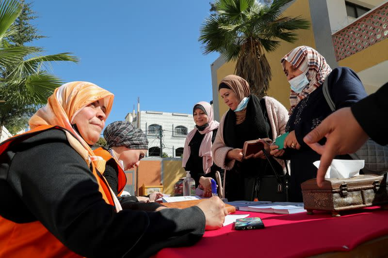 Rival factions agree on procedures for Palestinian elections