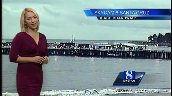 Get your Saturday KSBW Weather with Tracy Hinson 11 1 14