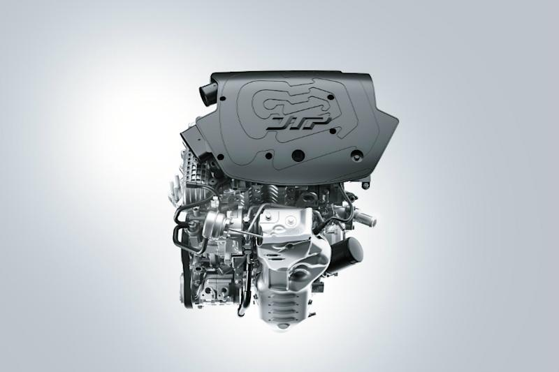 Tata Motors' 1.2L turbocharged Revotron petrol engine. (Image: Tata Motors)