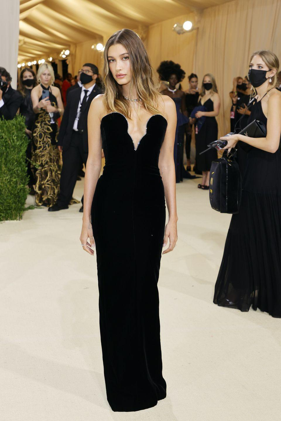 <p>in Saint Laurent and Tiffany & Co.</p>