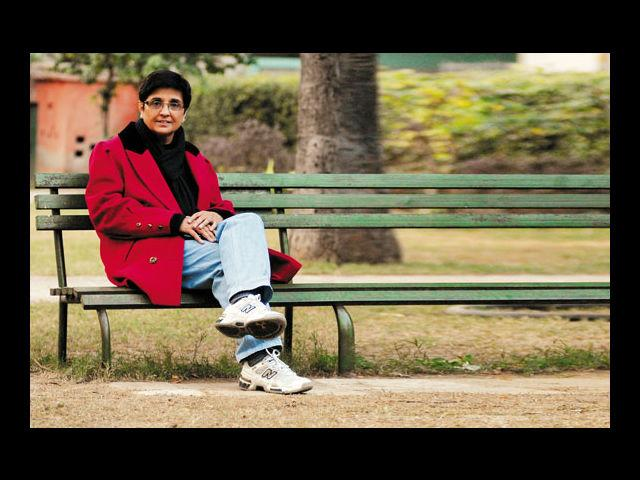 <h4>2. Kiran Bedi</h4> <p><strong>Age: 64</strong></p> <p>India's first woman IPS officer, Kiran Bedi has been known for her hard stance on social justice. She was a frontrunner in the recent 'India Against Corruption' movement and never showed any sign of bowing down to political pressure in spite of her fair share of controversies.</p>