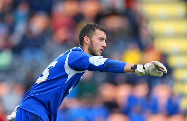 Max Crocombe played for Barnet in League Two in 2015. (Getty)