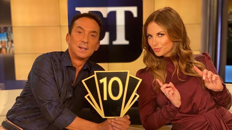 'Dancing With the Stars' Judge Bruno Tonioli Co-Hosting Entertainment Tonight (Exclusive)