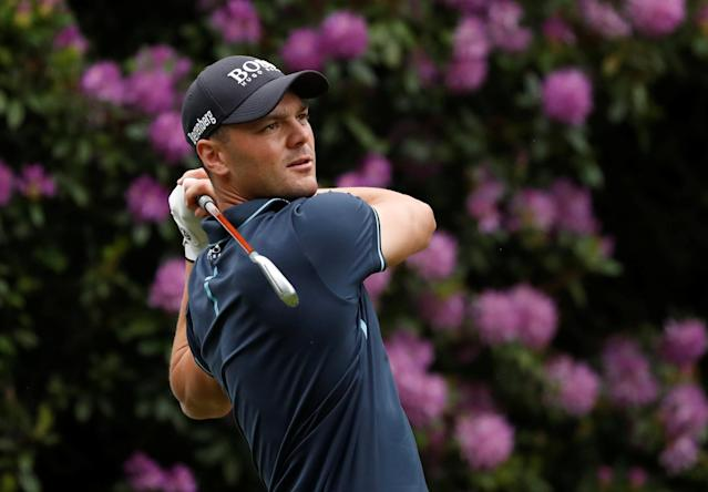 Golf - European Tour - BMW PGA Championship - Wentworth Club, Virginia Water, Britain - May 24, 2018 Germany's Martin Kaymer in action during the first round Action Images via Reuters/Peter Cziborra