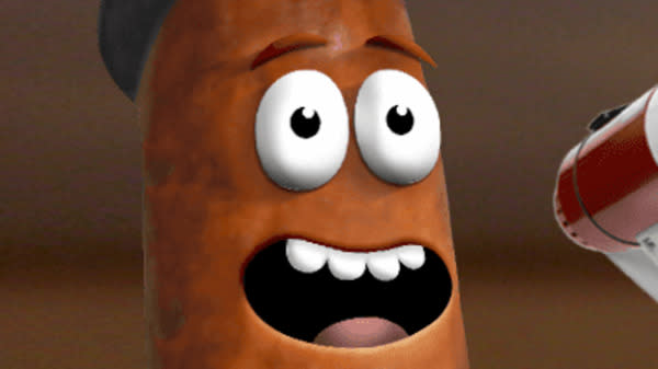 Denny's Sausage Mascot Looks Like Poop, And The Restaurant Won't Change It
