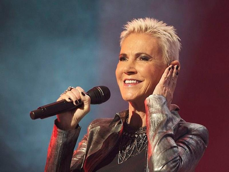 Marie Fredriksson of the pop duo Roxette performs in 2011: Carlos Alvarez/Getty Images