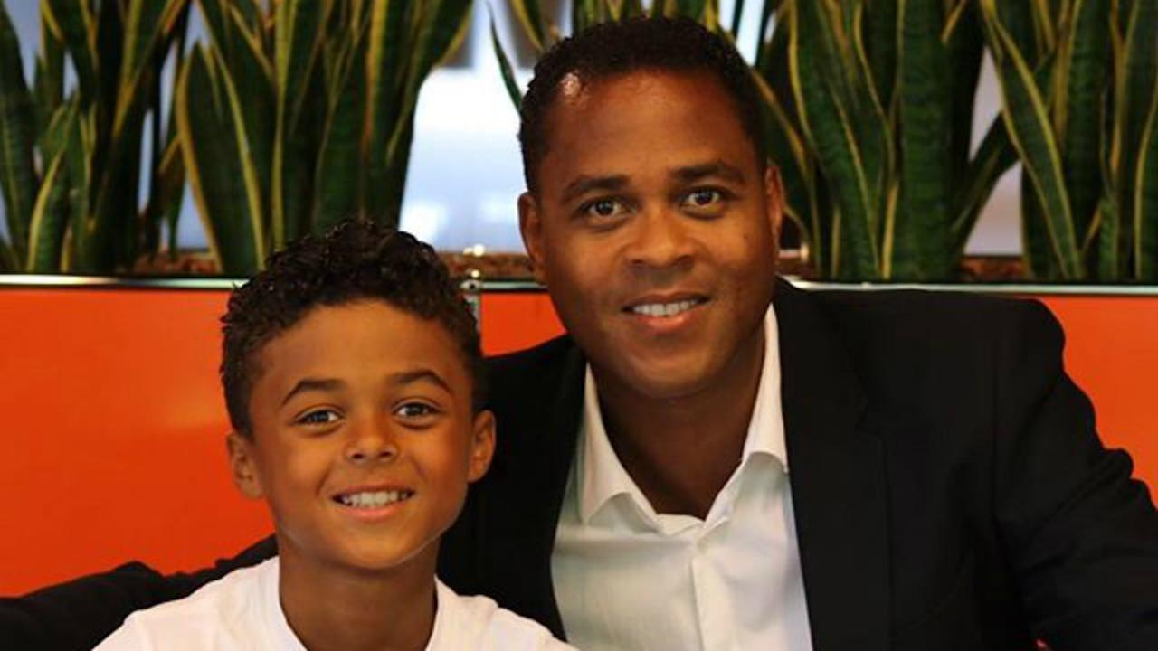 Shane Kluivert – the son of Barca and Netherlands great Patrick – has signed a deal with the sportswear giant