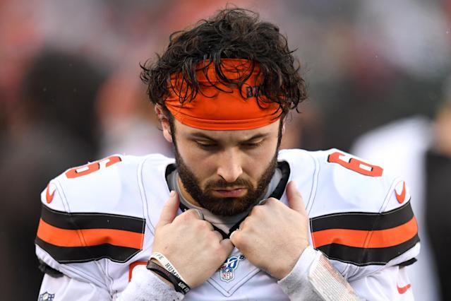 Neither the Browns nor Baker Mayfield lived up to expectations in 2019. (Photo by: 2019 Nick Cammett/Diamond Images via Getty Images)