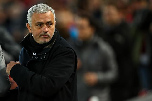 Whenever Jose Mourinho looked behind the scenes at Manchester United, there was no sure hand to guide him or put him in check. (Getty)