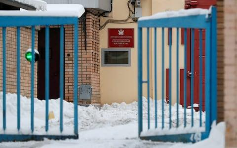 Mr Whelan has been moved from solitary confinement to a two-person cell in Lefortovo detention centre - Credit: Shamil Zhumatov/Reuters