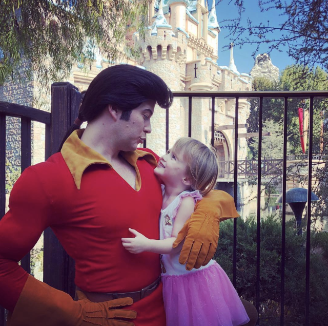 "<p>""Oh great so she's into bad boys at the age of 3,"" the Grammy-nominated singer joked about this pic of her daughter, River Rose, at Disneyland, positively beaming at <em>Beauty and the Beast </em>villain Gaston. ""This should be fun."" (Photo: <a href=""https://www.instagram.com/p/Bd01Fg3hD2C/?taken-by=kellyclarkson"" rel=""nofollow noopener"" target=""_blank"" data-ylk=""slk:Kelly Clarkson via Instagram"" class=""link rapid-noclick-resp"">Kelly Clarkson via Instagram</a>) </p>"