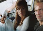 """<p>Eva Mendes was relatively unknown when she starred as Monica Fuentes in <em>2 Fast 2 Furious </em>in 2003. The actress portrayed an undercover U.S. Customs Agent, who just so happened to fall in love with Brian O'Connor (Paul Walker). And yes, this was when the iconic <a href=""""https://www.youtube.com/watch?v=2aUAqBIaaZs"""" rel=""""nofollow noopener"""" target=""""_blank"""" data-ylk=""""slk:stare and drive move"""" class=""""link rapid-noclick-resp"""">stare and drive move</a> was born. </p>"""
