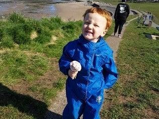 <p>George Arthur Hinds: his parents described him as their 'little angel'</p> (PA)