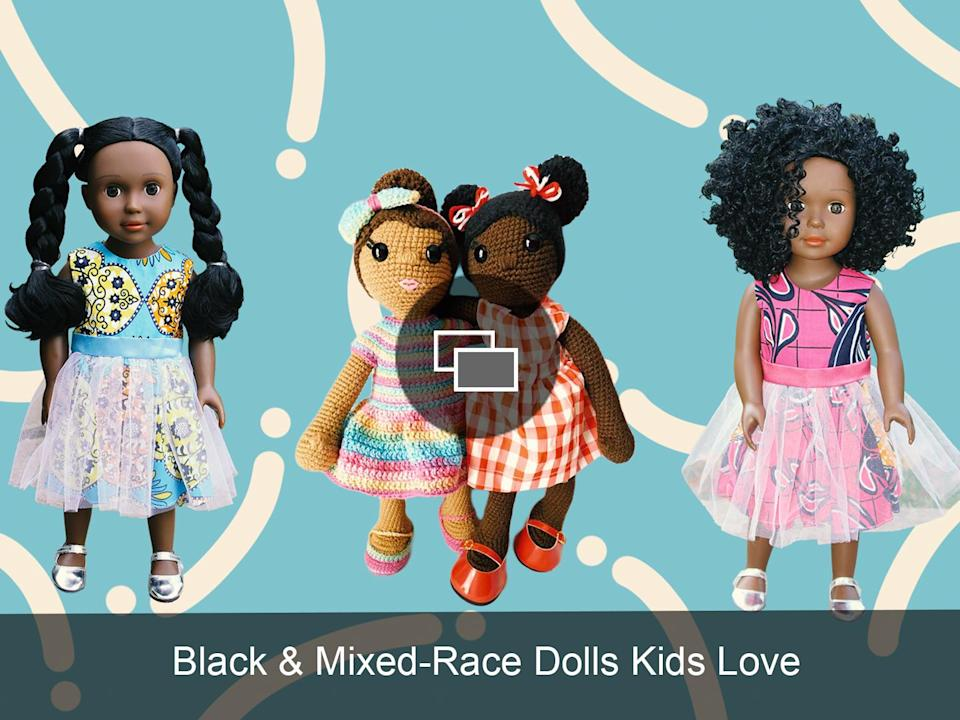 integrated black mestizo dolls slideshow