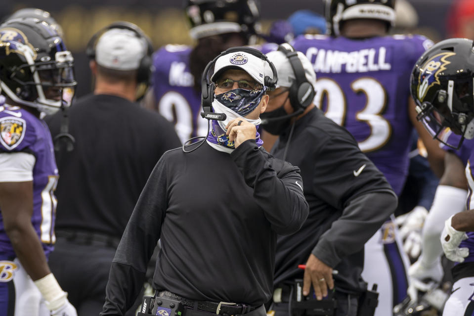 It's been a rough week for the Ravens. (Photo by Scott Taetsch/Getty Images)