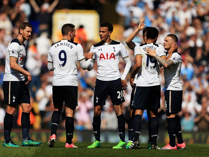 Tottenham are now only four points behind Chelsea (Getty)