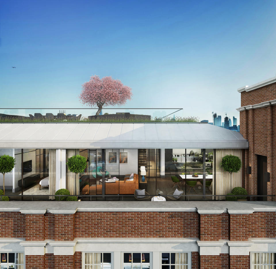 How the penthouse at Islington Square development in London will look. Photo courtesy of Galliard Homes/Lawrie Cornish