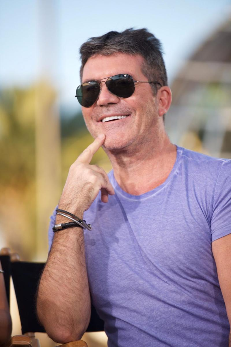 This is probably what you think of when you hear 'Simon Cowell'. Source: Getty