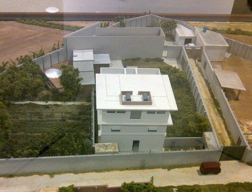 The once top secret scale model of Osama bin Laden's hideout in Pakistan