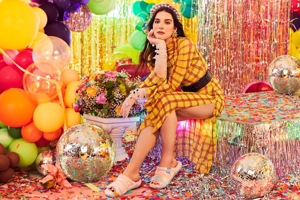 Hari Nef appears in the new #UggPride campaign of the UGG brand.